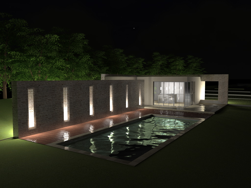 Piscine et pool house sophie brunel architecte - Piscine pool house des idees ...
